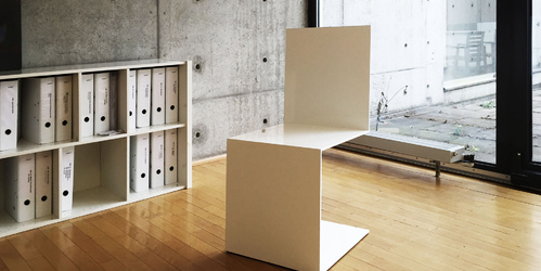 freischwinger stuhl commodus quadratischer weisser. Black Bedroom Furniture Sets. Home Design Ideas