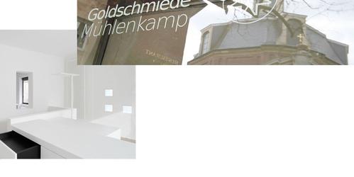 Minimalistischer Ladenbau