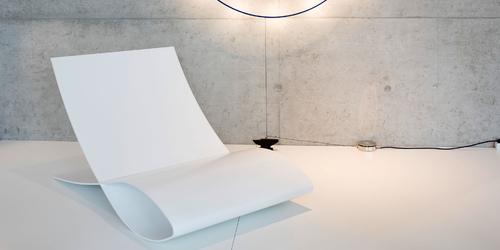 Sessel alpha bestellen weisser design sessel von rechteck for Sessel wartebereich