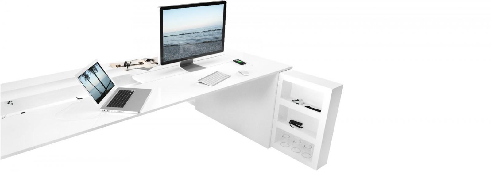 Schreibtisch büro weiß  Besprechungstisch UNIVERSI online kaufen ▭ moderne Design ...