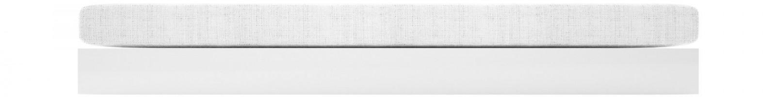 bett silentium puristisches design bett von rechteck. Black Bedroom Furniture Sets. Home Design Ideas