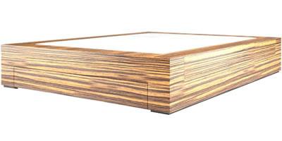 designer bett moderne wei e design betten von rechteck. Black Bedroom Furniture Sets. Home Design Ideas