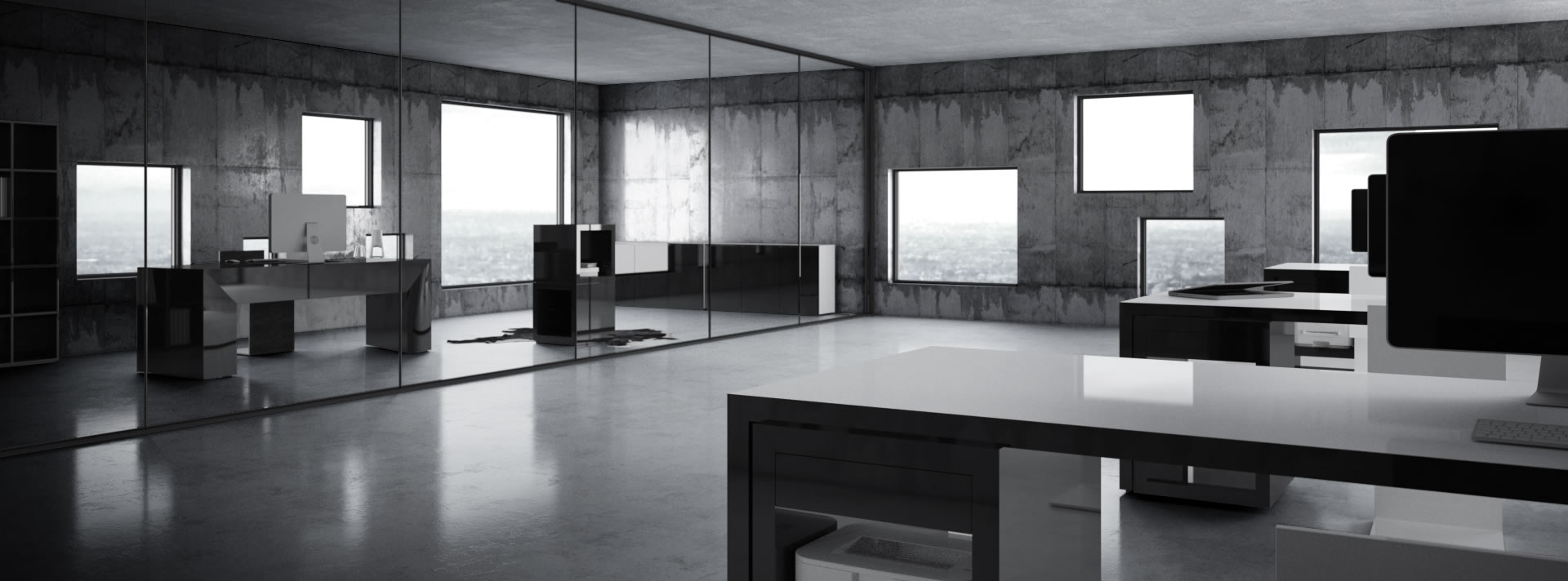 arbeitstisch exklusive designer arbeitstische von rechteck. Black Bedroom Furniture Sets. Home Design Ideas