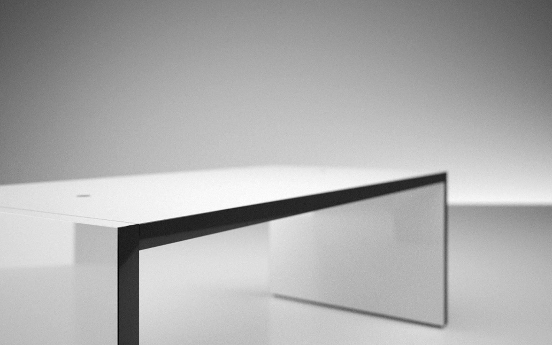 tisch faber online kaufen eleganter design tisch von rechteck. Black Bedroom Furniture Sets. Home Design Ideas