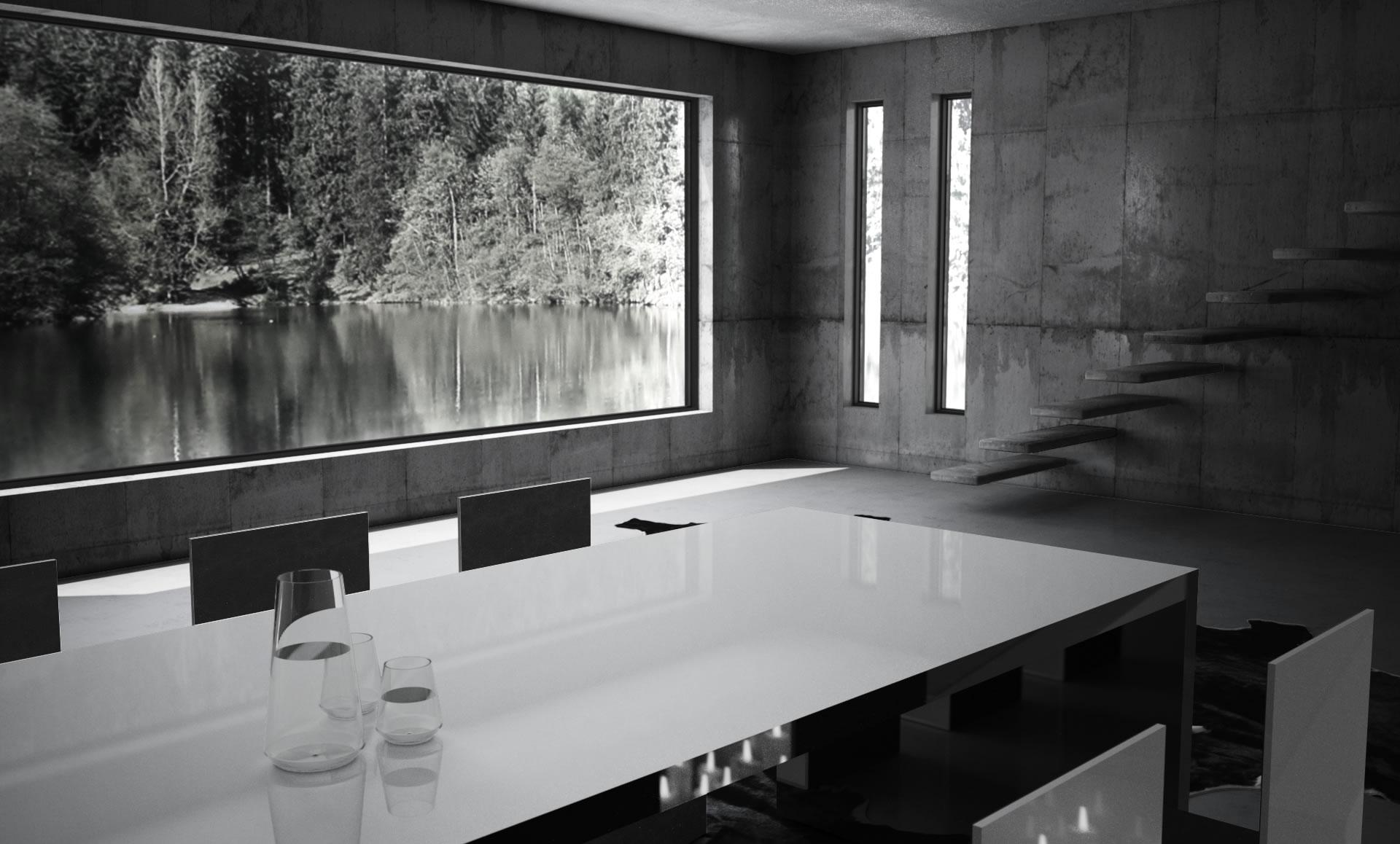 Esstische Modern With Tisch FABER Online Kaufen âu2013 Eleganter DesignTisch  Von RECHTECK Also Schwarz Weißer