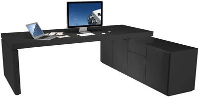 Design Schreibtisch Moderne Hochglanz Schreibtisch Von Rechteck