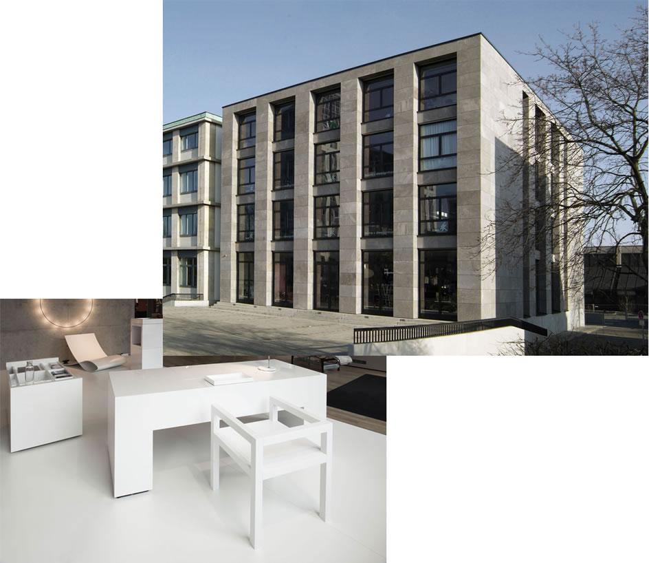 Bsk Nürnberg rechteck designmöbel referenzen rechteck