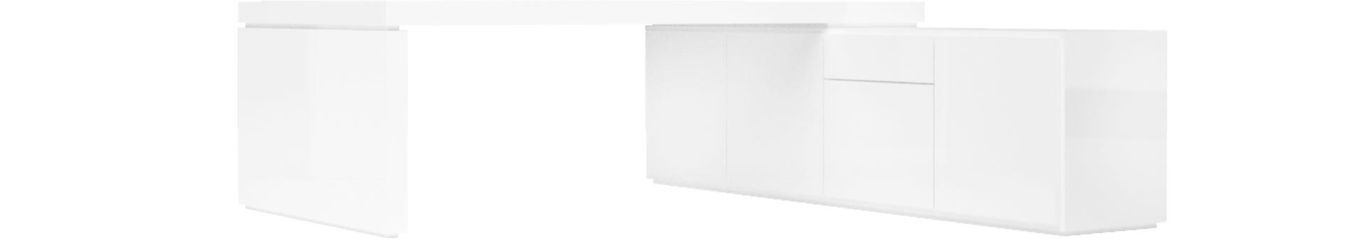 chefzimmer schreibtisch praefectus minimalistischer. Black Bedroom Furniture Sets. Home Design Ideas