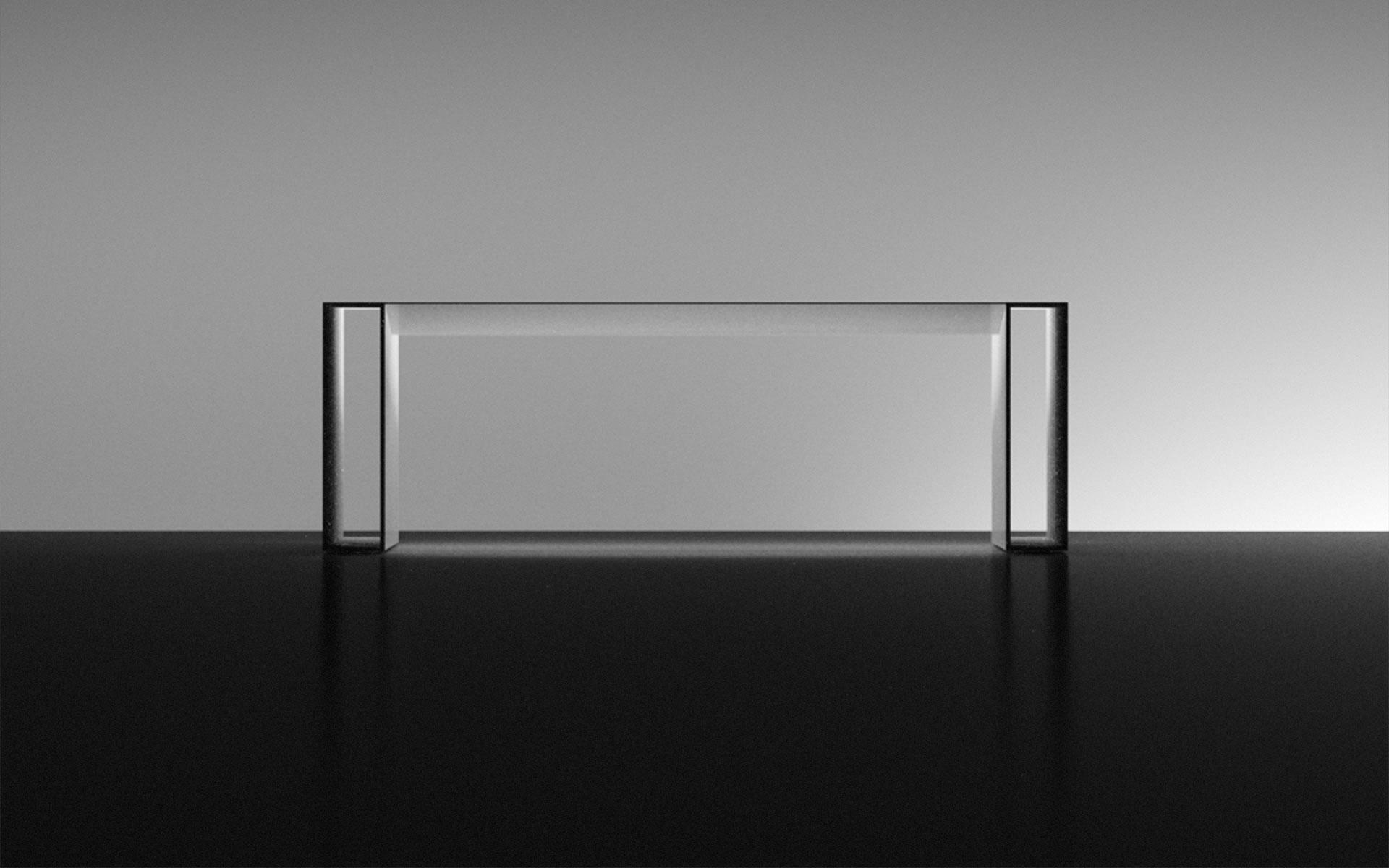 Esstisch Transparent ~ Schreibtisch SUMMARUM online shop ausgezeichnet DesignEsstischh von RECHTECK