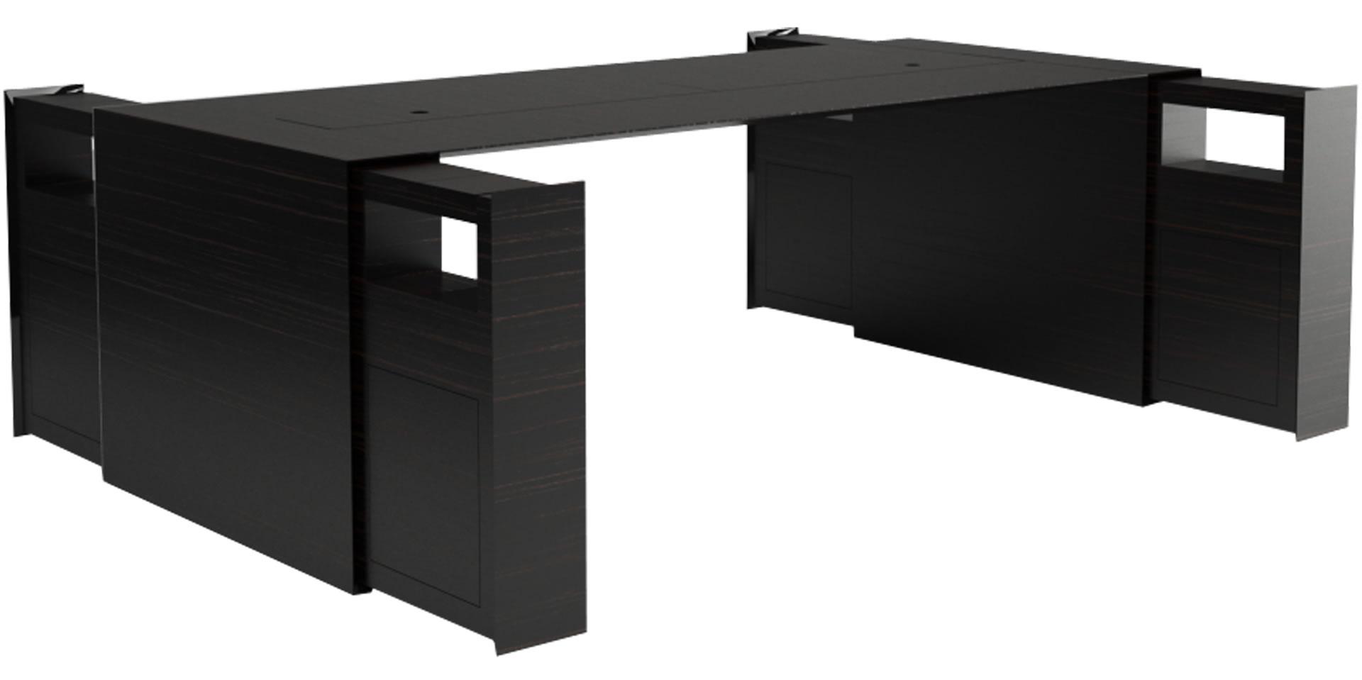 Besprechungstisch summarum wei er design besprechungs for Schreibtisch dreieckig