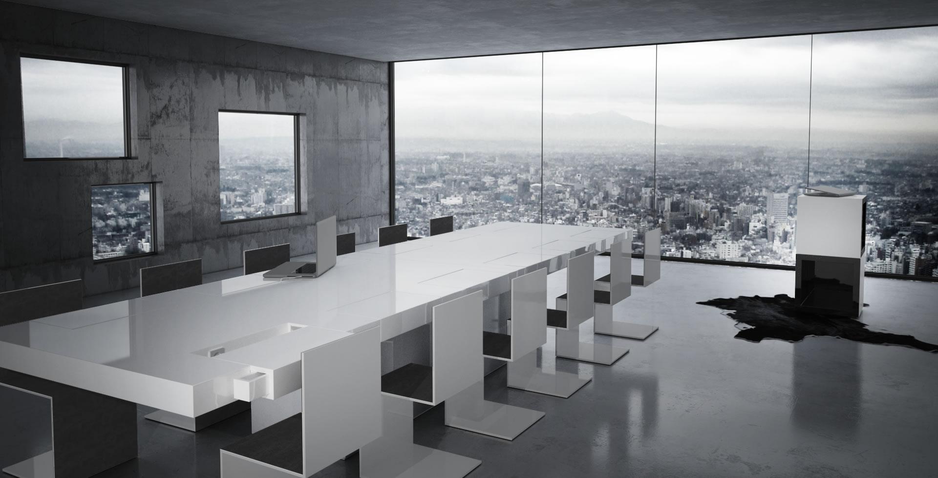 Konferenztisch Conventus Edler Designer Konferenztisch Von Rechteck