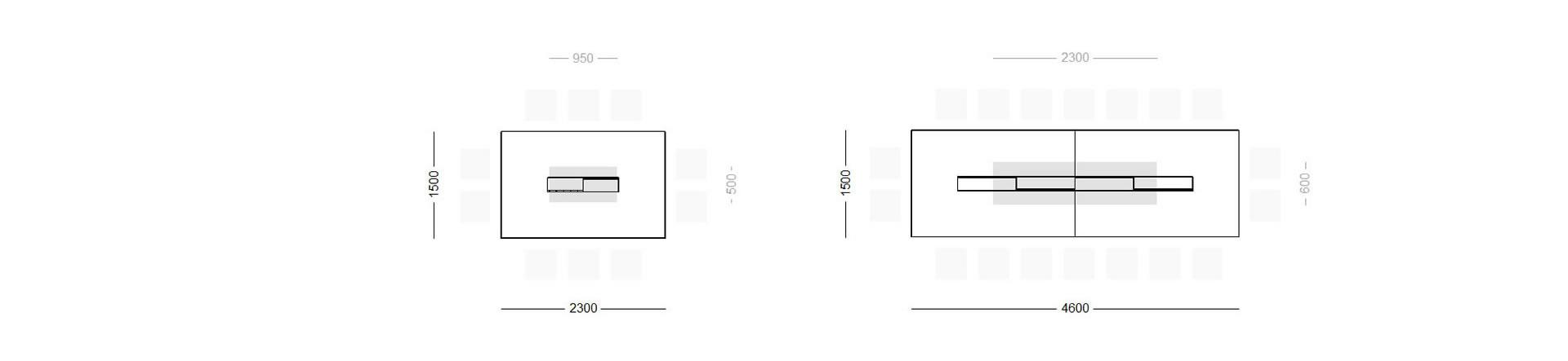 konferenztisch congressus design konferenztisch von rechteck. Black Bedroom Furniture Sets. Home Design Ideas