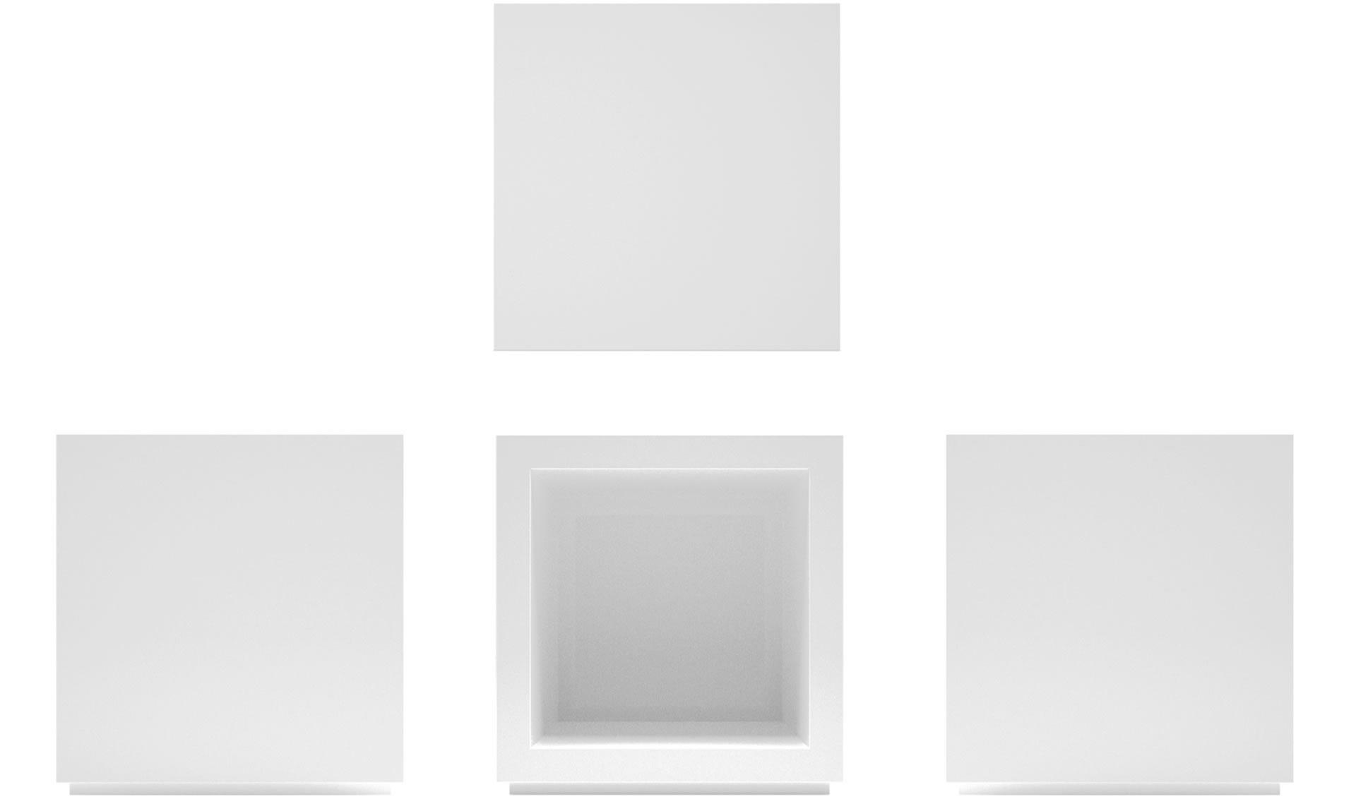 REGALSYSTEM LECTULUS – quadratische Design-Würfel von RECHTECK