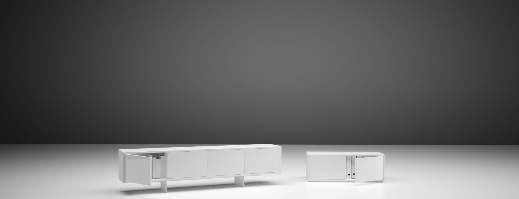 Lowboard Auxilium Exklusives Design Lowboard Von Rechteck