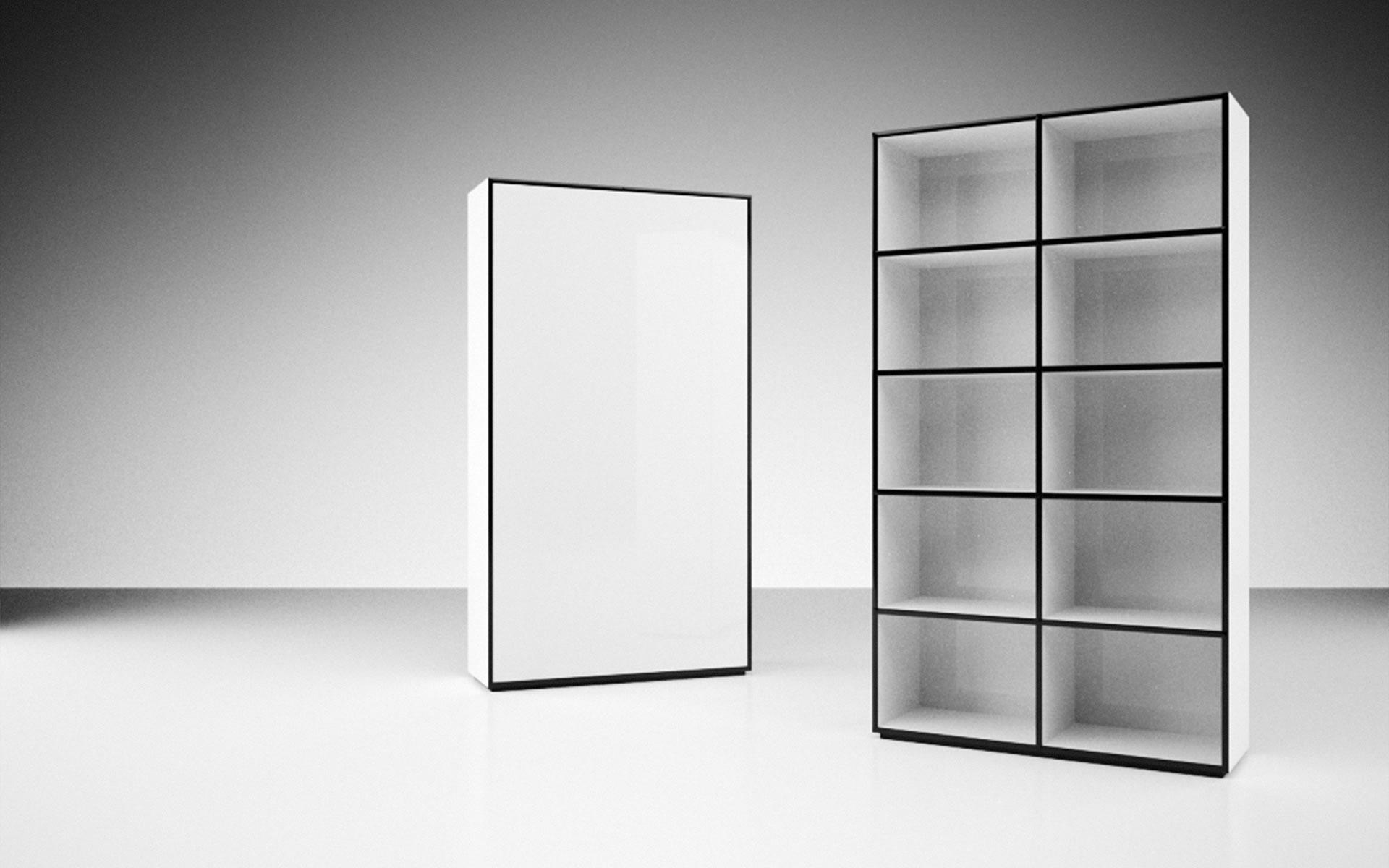 regal reservare modernes design regal von rechteck. Black Bedroom Furniture Sets. Home Design Ideas