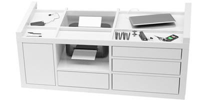 Eckschreibtisch weiß design  Besprechungs-Tisch SUMMARUM online shop ▭ ausgezeichnet Design ...