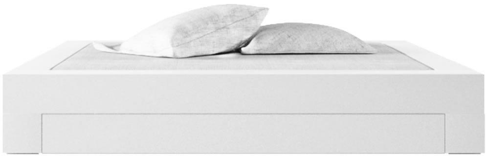 schlafzimmer komplett in weissem hochglanz-lack ▭ rechteck felix, Hause deko