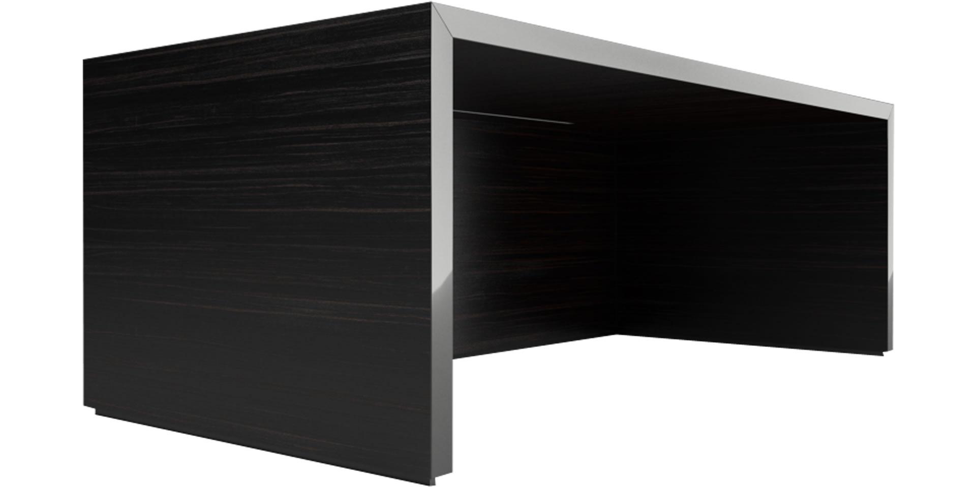 Schreibtisch holz dunkel  Schreibtisch REGERE online kaufen ▭ funktional Design-Tisch von ...