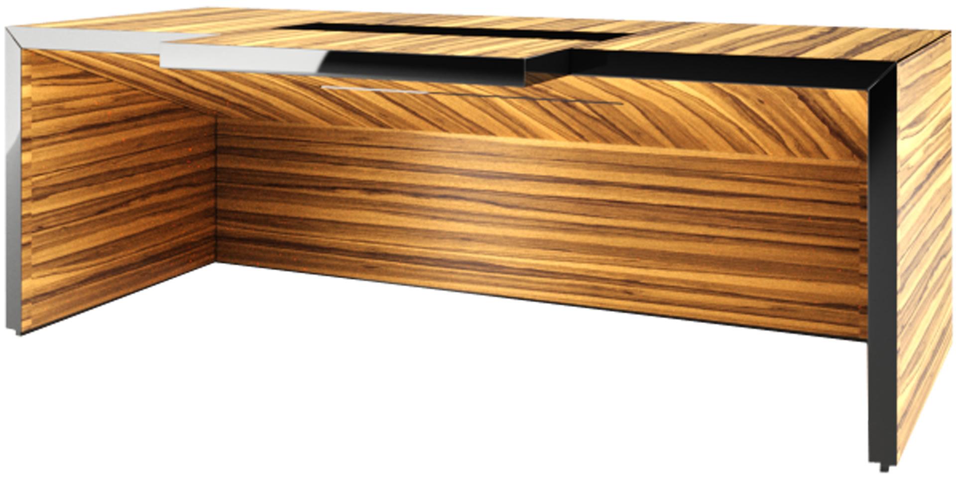 Kleine Schreibtische Design : Schreibtisch Aus Holz Futuristisch U2013  Topby.info