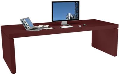 design schreibtisch moderne hochglanz schreibtisch von. Black Bedroom Furniture Sets. Home Design Ideas
