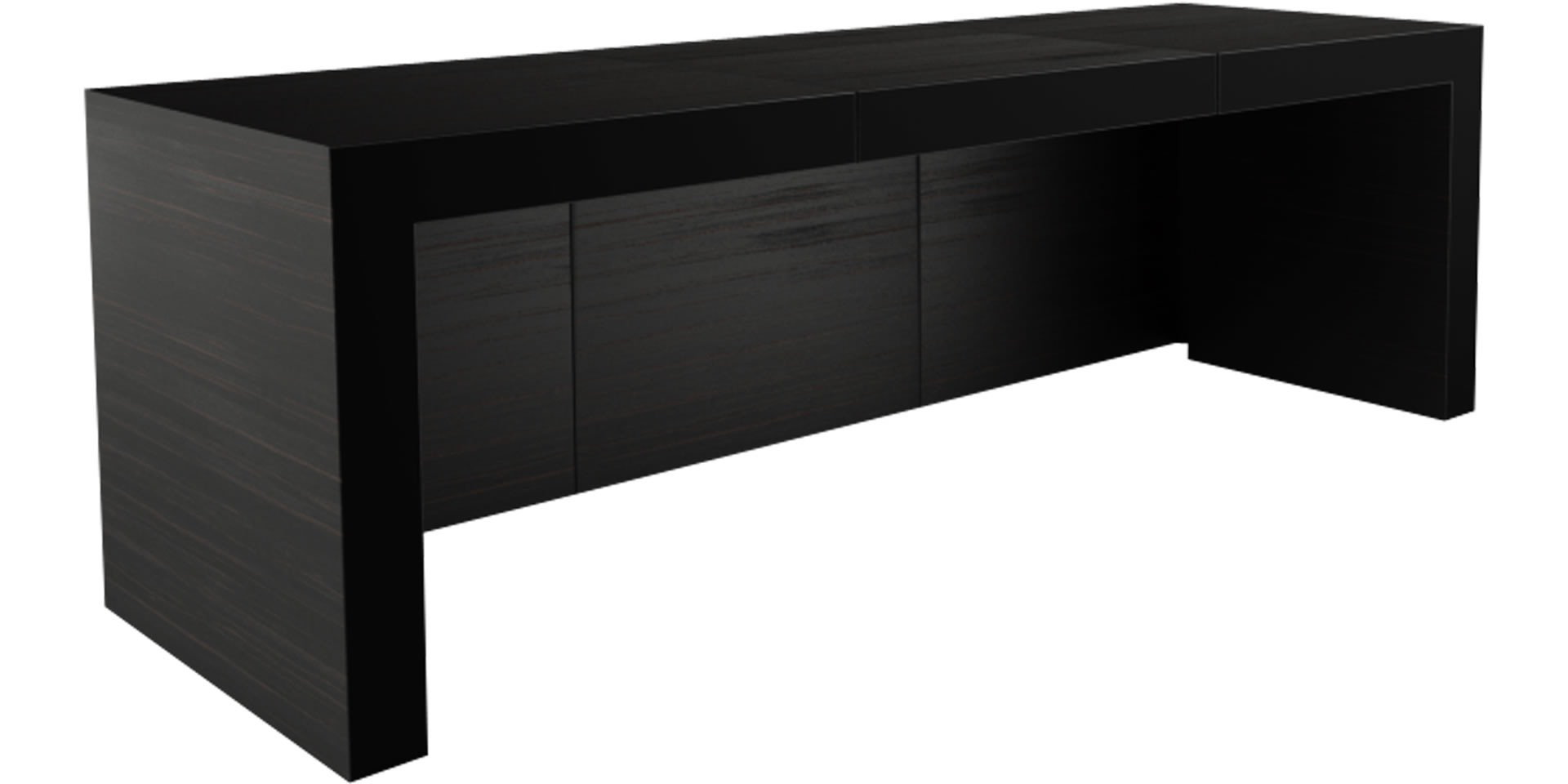 eck schreibtisch opararius puristischer design. Black Bedroom Furniture Sets. Home Design Ideas