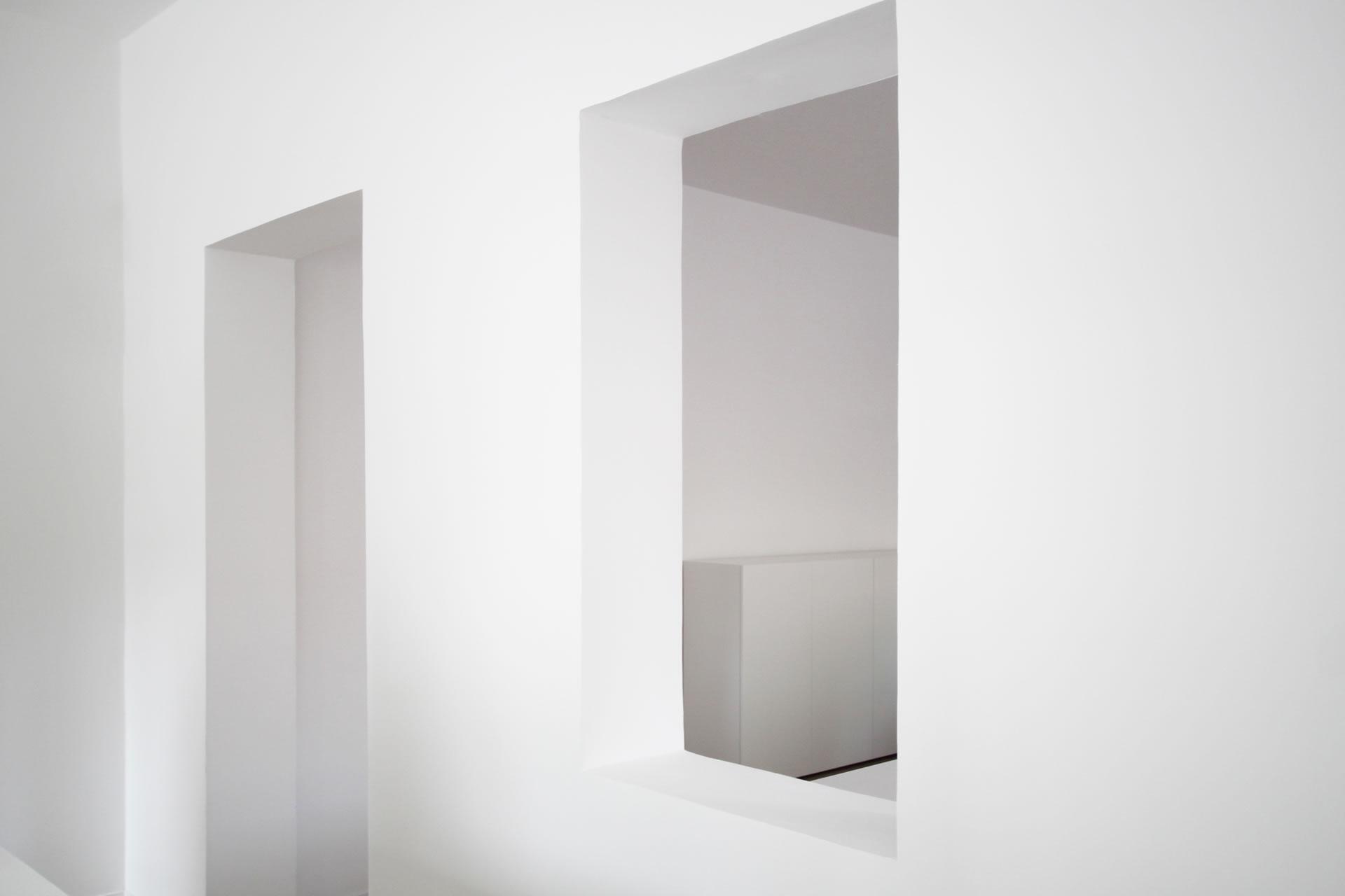 Ladenbau – Puristischer Ladenbau RECHTECK Design-Möbel